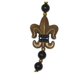 Fleur-De-Lis Medallion Necklace