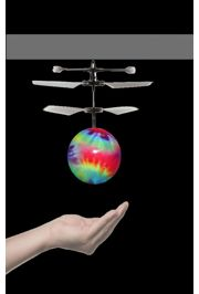 mardi gras LED Flying Hover Propeller Ball/ Drone hand activated