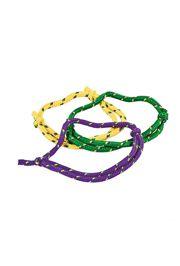 Mardi Gras Friendship Rope Bracelets