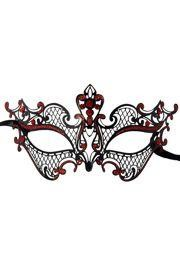 Elegant and glamorous Venetian style Metal Laser Cut Mardi Gras Masks are incredibly detailed. These laser cut masquerade mask come as...