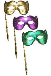 Shop our collection of  Mardi Gras Masks  which includes most popular  Venetian Masks ,  Masquerade Masks ,  Prom Masks ,  Venetian Feather Masks ,  Rhinestone Masks ,  Laser Cut Masks ,  Men Masks  and more. These masks are ideal for Proms, Parties and Masquerade Weddings.