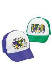 Mardi Gras Baseball Hat