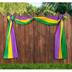 20ft Long x 18in Wide Mardi Gras Bunting