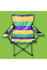 Mardi Gras Folding Chair