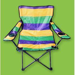 Mardi Gras Folding Chair