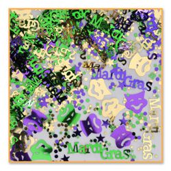 1/2oz Assorted Mardi Gras Confetti