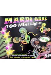 25ft 100 Count Mardi Gras Lights