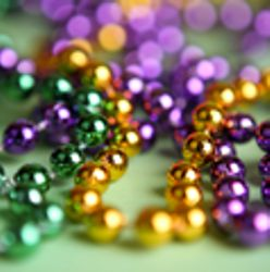 Mardi Gras Bead Necklace Mystery Box