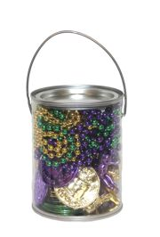 Mardi Gras Party Favor Bucket/ Kit