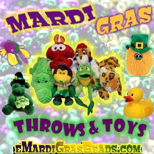 Mardi Gras Throws & Toys