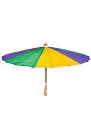 21.5in Mardi Gras Parasol/ Umbrella