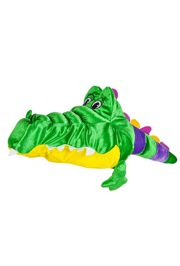 24in Mardi Gras Plush Gator Hat