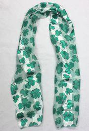 Shamrock/ St Patricks Scarf