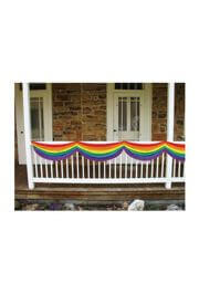 Rainbow Colors Fabric Bunting