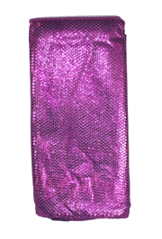 44in x 15ft Purple Material w/ 3mm Spangles