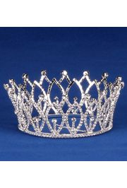 2.25in Tall Rhinestone Crown