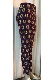 Mardi Gras Leggings w/ King Cake Design