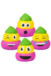 3in Mardi Gras Squish Poop