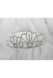 2.75in Tall Rhinestone Queen Crown Shape Tiara