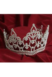 5in Tall Rhinestone Queen Tiara