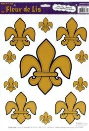 Fleur-De-Lis Window Stickers