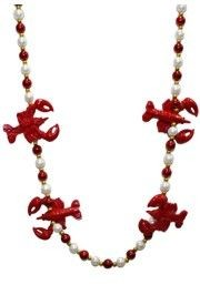 Crawfish/Lobster Beads