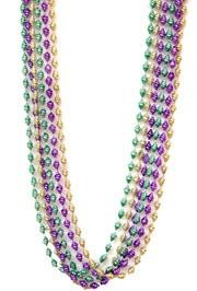 48in Metallic Purple/ Green/ Gold Small Seashell Beads