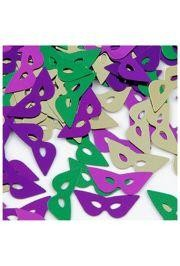 2oz 16mm Metallic Purple/ Green/ Gold Cat Eye Mask Confetti