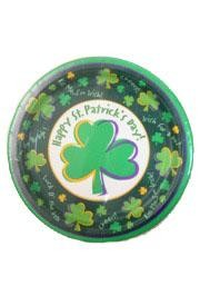 7in St Patrick Paper Plate