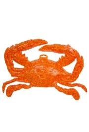 17in x 14in Plastic Crab PLAQUE DECORATION