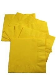 5in x 5in Yellow Beverage Napkins