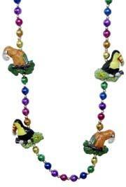 Exotic Birds Rainbow Necklace