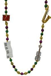 Nothing says Mardi Gras like the sweet sound of jazz.  Make sure to dress the part with some of our jazz beads.