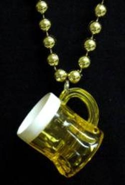 One Beer Mug Necklace