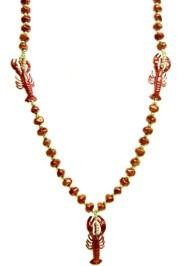 Crawfish, Lobster Red Rock Beads