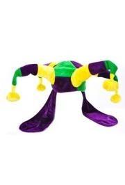 Plush Mardi Gras Super Jester Hat
