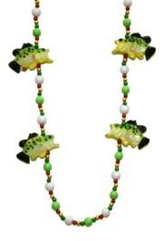 Big Mouth Bass Fish Necklace
