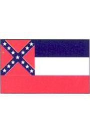 3ftx 5ft Mississippi Nylon Flag