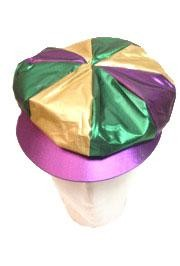 Metallic/ Purple/ Green Gold/ Gatsby Cap/Hat w/out Embroidery