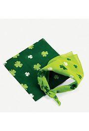 20in x 20in Polyester St Patricks Shamrock Bandana