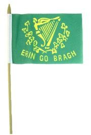 Flags and banners will let everyone know that you are in a festive mood for St. Patrick's Day.  Fly high with a Happy St. Patrick's Day Flag, Irish Clover Flag, St. Patrick's Day Bunting, or a St. Patrick's Pennant Banner.