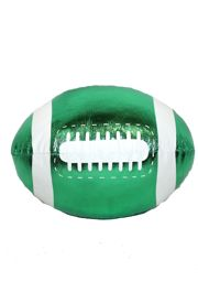 4in x 6in Green Vinyl Football