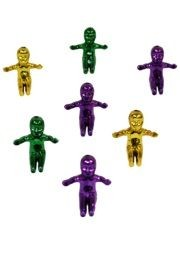 1.5in Purple/ Green/ Gold/ Jumbo King Cake Baby
