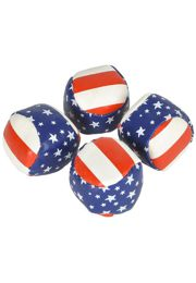 2in Star/ Stripe Kick Ball/ Football
