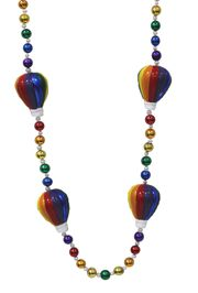 Rainbow Hot Air Balloons Necklace