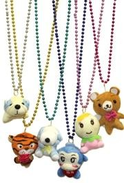 Plush Animal Mix Necklaces