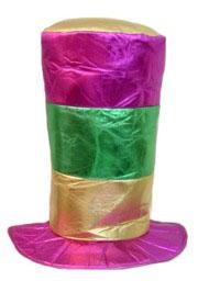 14in Tall Jumbo Mardi Gras Hat