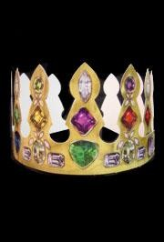 4in  Tall Adjustable Paper Jewel Crown