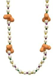Naughty Beads: Four Penis Necklace