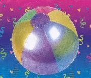 18in Inflatable Metallic Beach Ball
